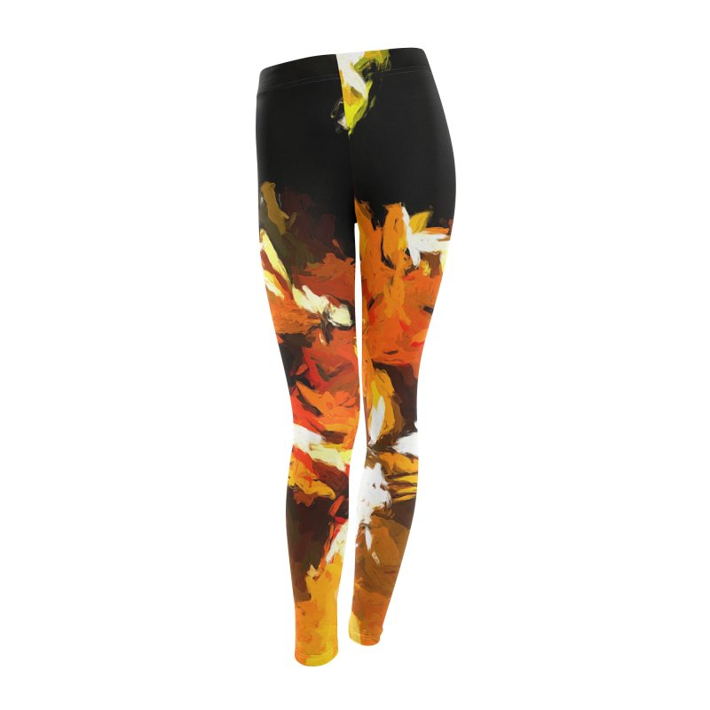 Cathartic Scream of the Sleepless Self Women's Leggings Bottoms by jackievano's Artist Shop