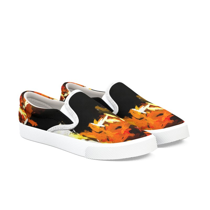 Cathartic Scream of the Sleepless Self Women's Slip-On Shoes by jackievano's Artist Shop