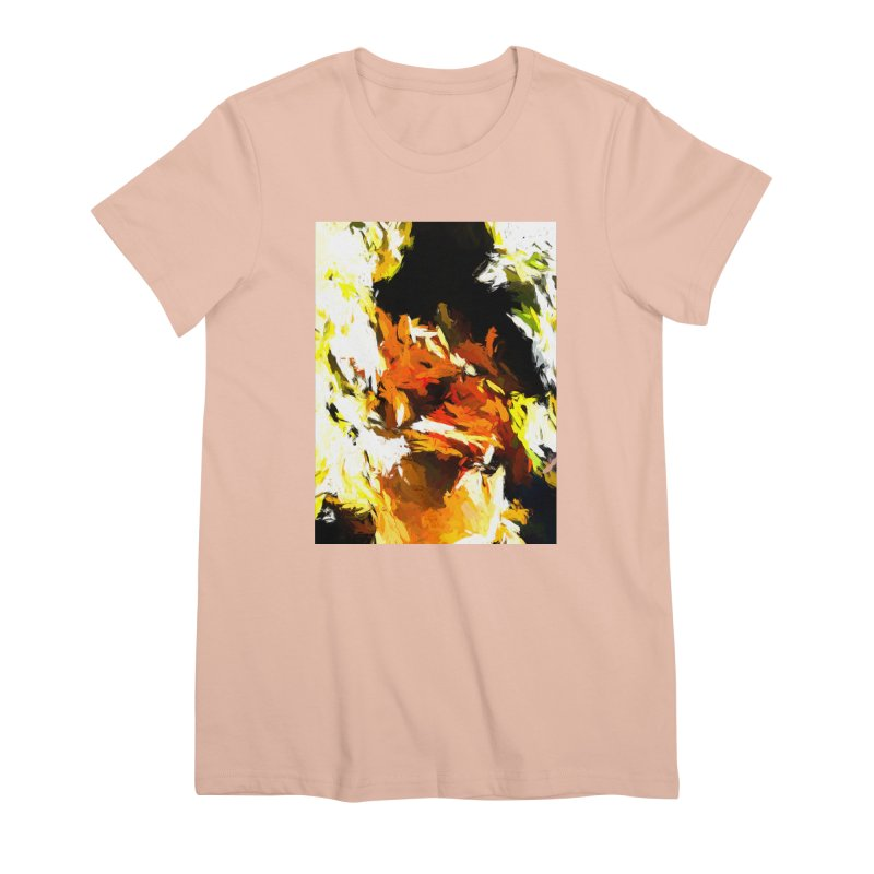 Cathartic Scream of the Sleepless Self Women's Premium T-Shirt by jackievano's Artist Shop