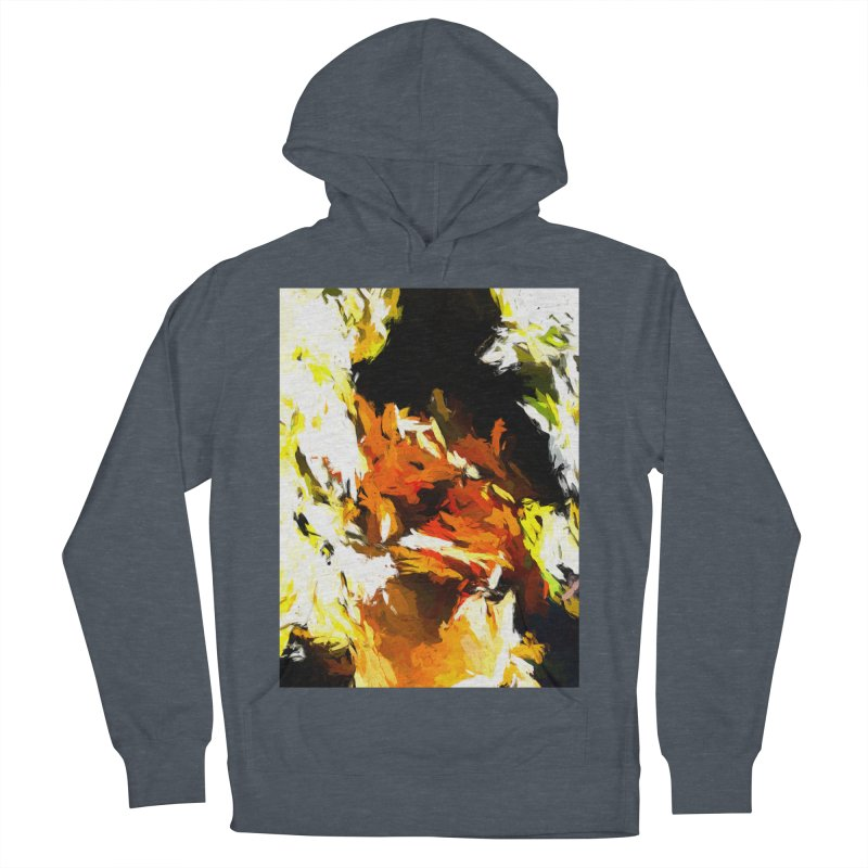 Cathartic Scream of the Sleepless Self Men's French Terry Pullover Hoody by jackievano's Artist Shop