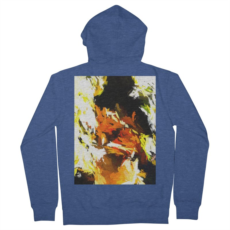 Cathartic Scream of the Sleepless Self Women's French Terry Zip-Up Hoody by jackievano's Artist Shop