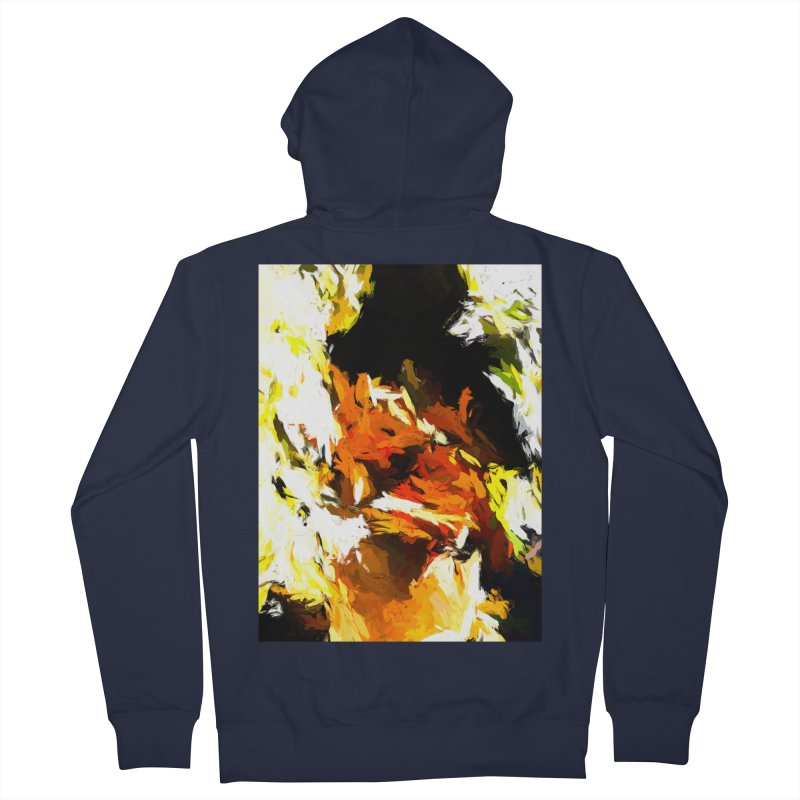 Cathartic Scream of the Sleepless Self Men's French Terry Zip-Up Hoody by jackievano's Artist Shop