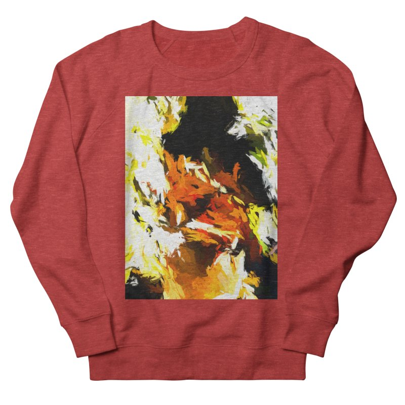 Cathartic Scream of the Sleepless Self Women's French Terry Sweatshirt by jackievano's Artist Shop