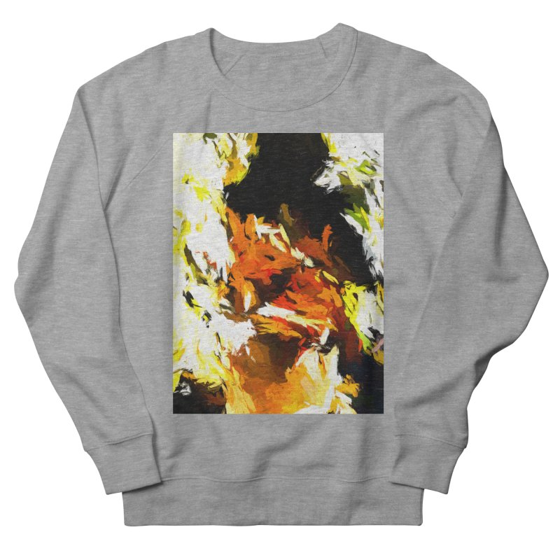 Cathartic Scream of the Sleepless Self Men's French Terry Sweatshirt by jackievano's Artist Shop