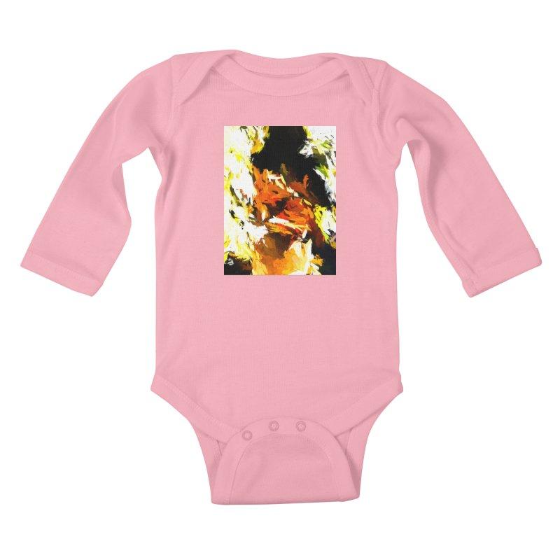 Cathartic Scream of the Sleepless Self Kids Baby Longsleeve Bodysuit by jackievano's Artist Shop