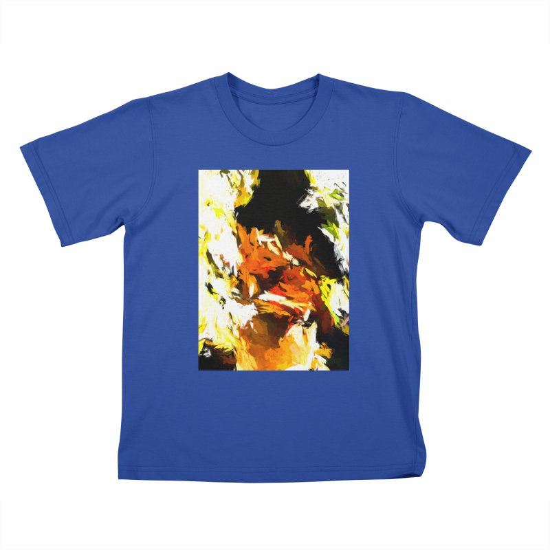 Cathartic Scream of the Sleepless Self Kids T-Shirt by jackievano's Artist Shop