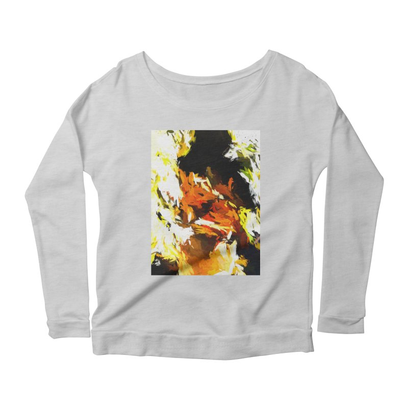 Cathartic Scream of the Sleepless Self Women's Scoop Neck Longsleeve T-Shirt by jackievano's Artist Shop