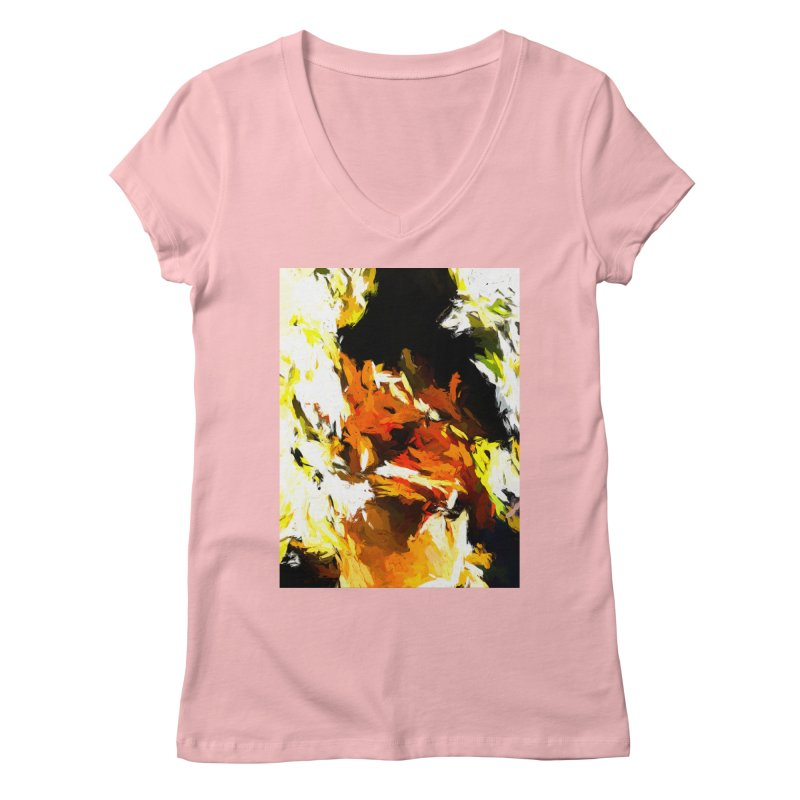 Cathartic Scream of the Sleepless Self Women's Regular V-Neck by jackievano's Artist Shop
