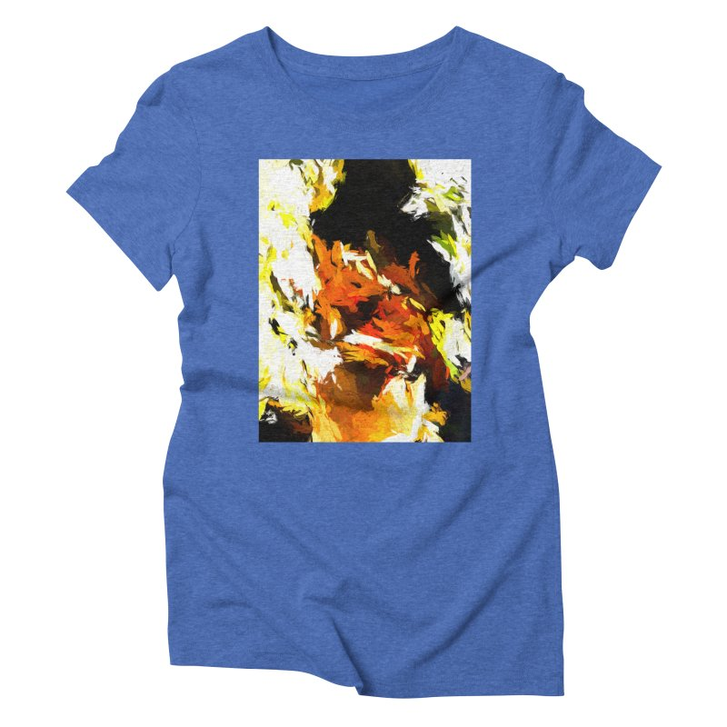 Cathartic Scream of the Sleepless Self Women's Triblend T-Shirt by jackievano's Artist Shop