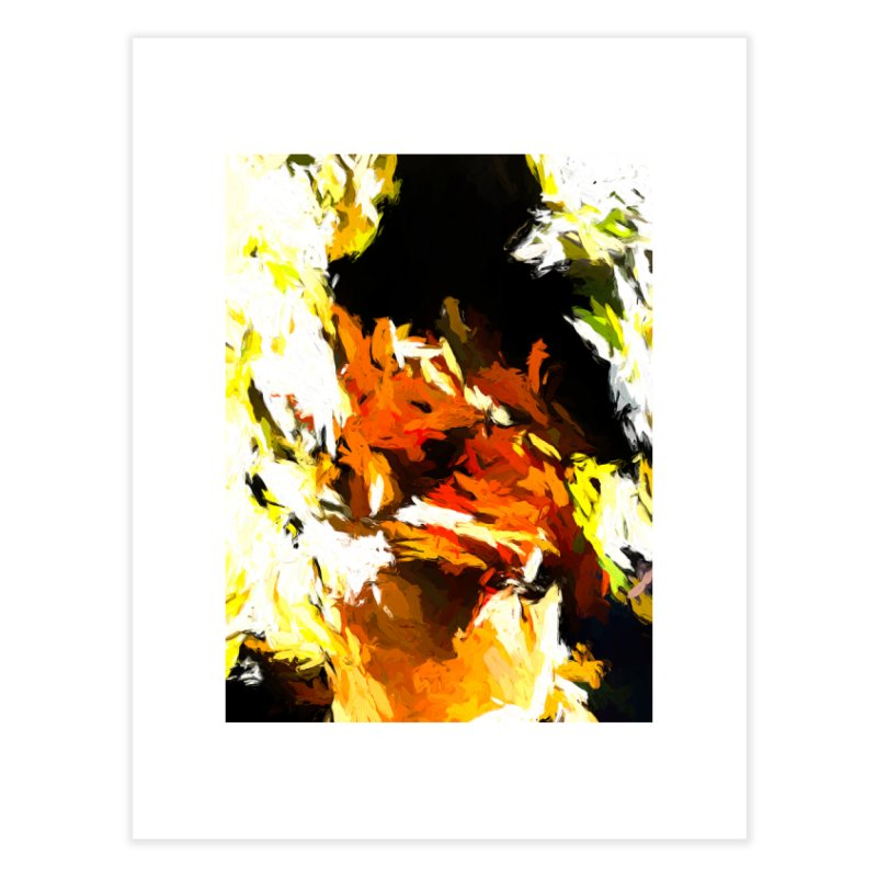 Cathartic Scream of the Sleepless Self Home Fine Art Print by jackievano's Artist Shop