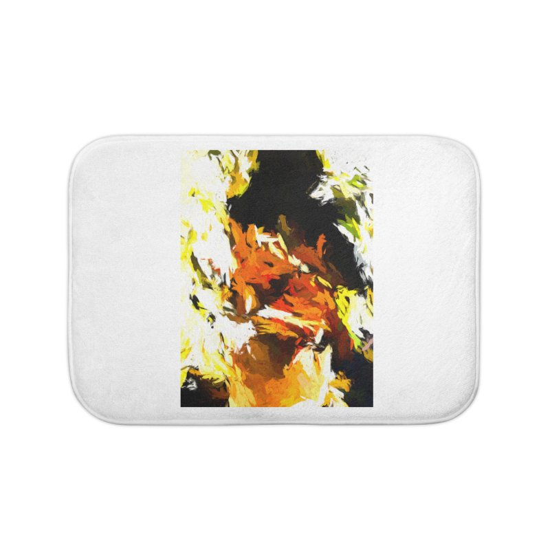 Cathartic Scream of the Sleepless Self Home Bath Mat by jackievano's Artist Shop