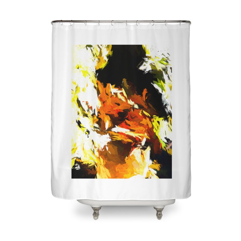 Cathartic Scream of the Sleepless Self Home Shower Curtain by jackievano's Artist Shop