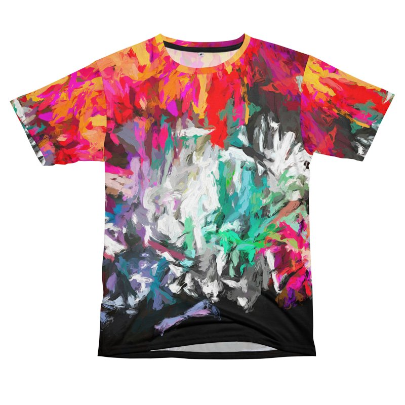 Turmoil and Torment in the Hot City 1 Men's T-Shirt Cut & Sew by jackievano's Artist Shop