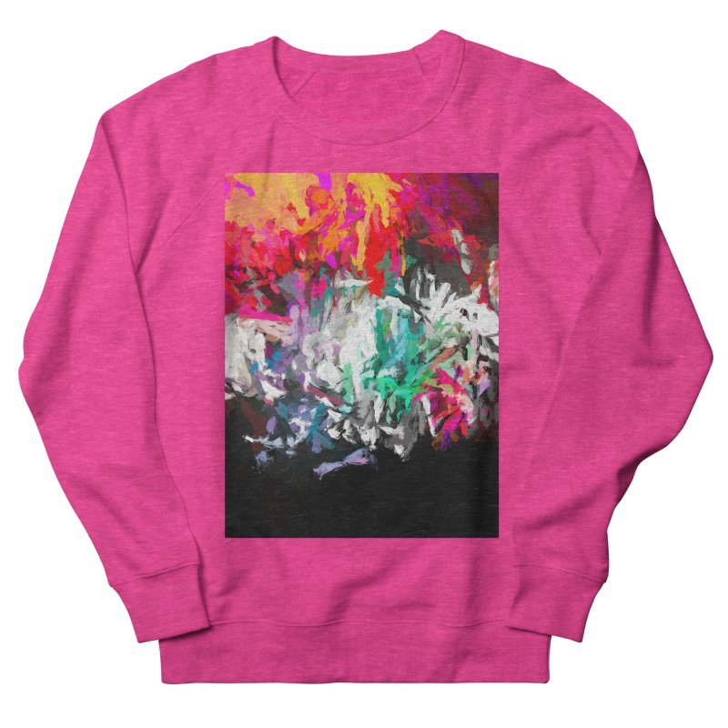 Turmoil and Torment in the Hot City 1 Men's French Terry Sweatshirt by jackievano's Artist Shop
