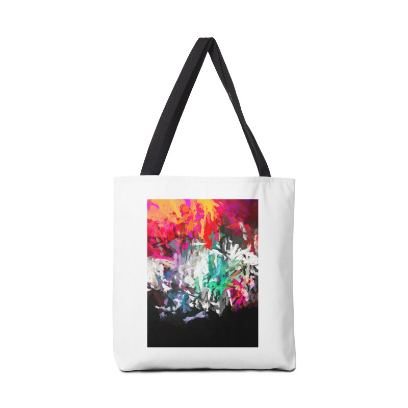 Turmoil and Torment in the Hot City 1 Accessories Tote Bag Bag by jackievano's Artist Shop