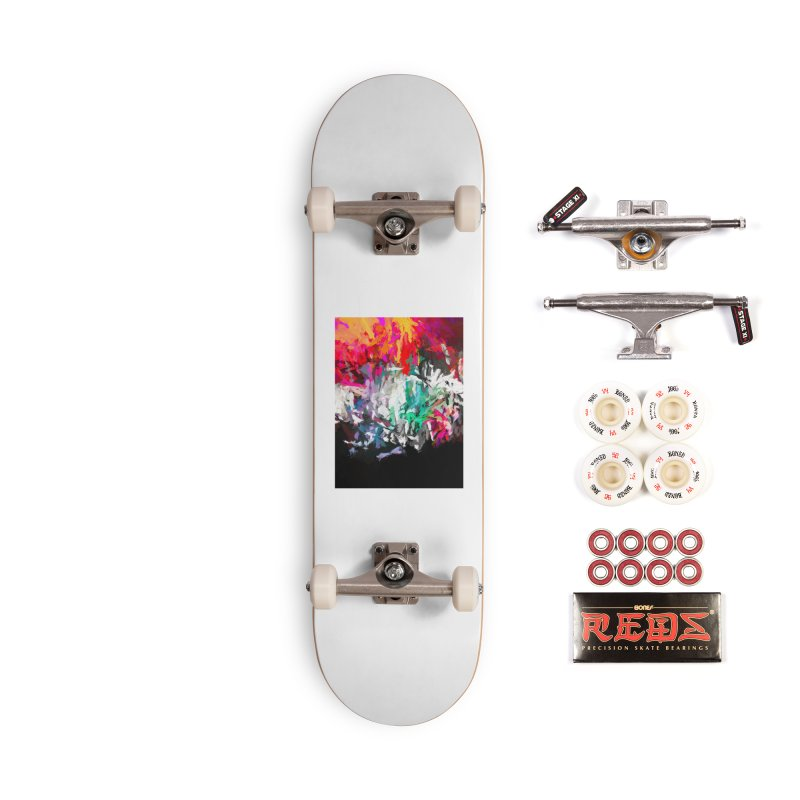 Turmoil and Torment in the Hot City 1 Accessories Complete - Pro Skateboard by jackievano's Artist Shop