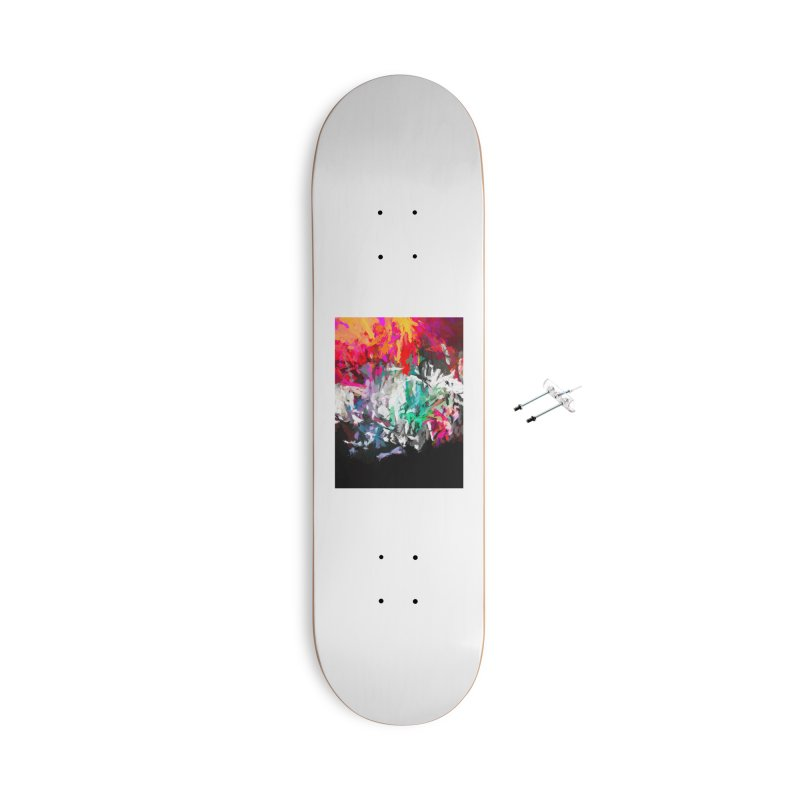 Turmoil and Torment in the Hot City 1 Accessories With Hanging Hardware Skateboard by jackievano's Artist Shop