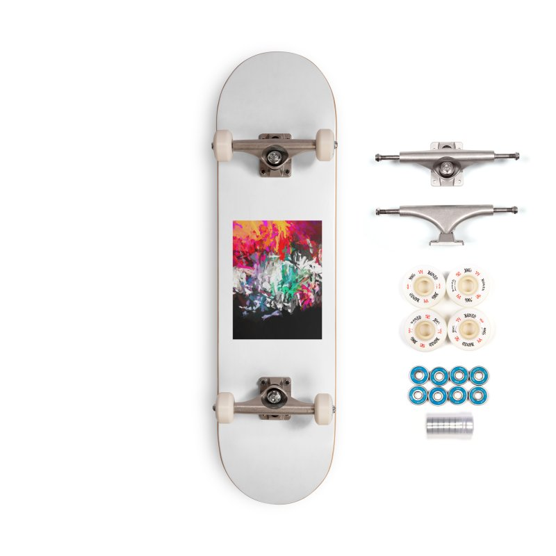 Turmoil and Torment in the Hot City 1 Accessories Complete - Premium Skateboard by jackievano's Artist Shop