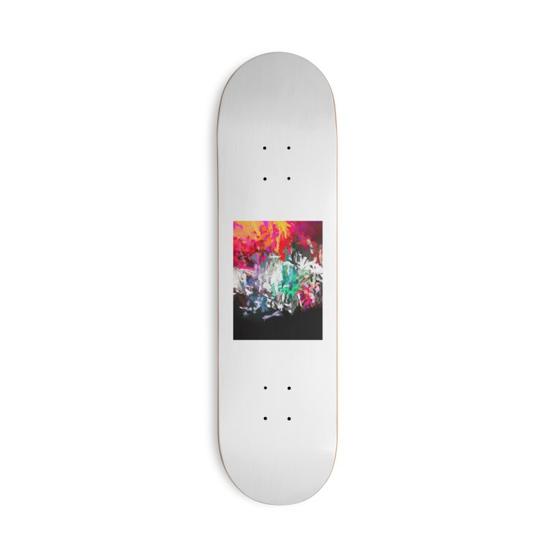 Turmoil and Torment in the Hot City 1 Accessories Deck Only Skateboard by jackievano's Artist Shop