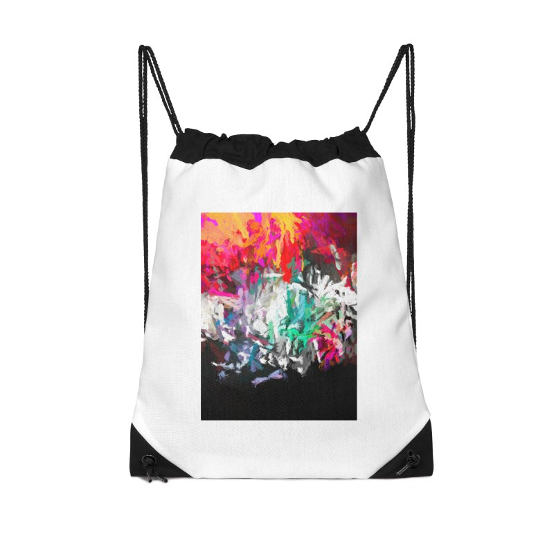 Turmoil and Torment in the Hot City 1 Accessories Drawstring Bag Bag by jackievano's Artist Shop