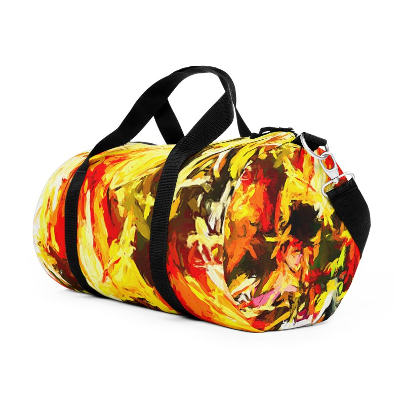 Scarecrow Boogie Accessories Duffel Bag Bag by jackievano's Artist Shop