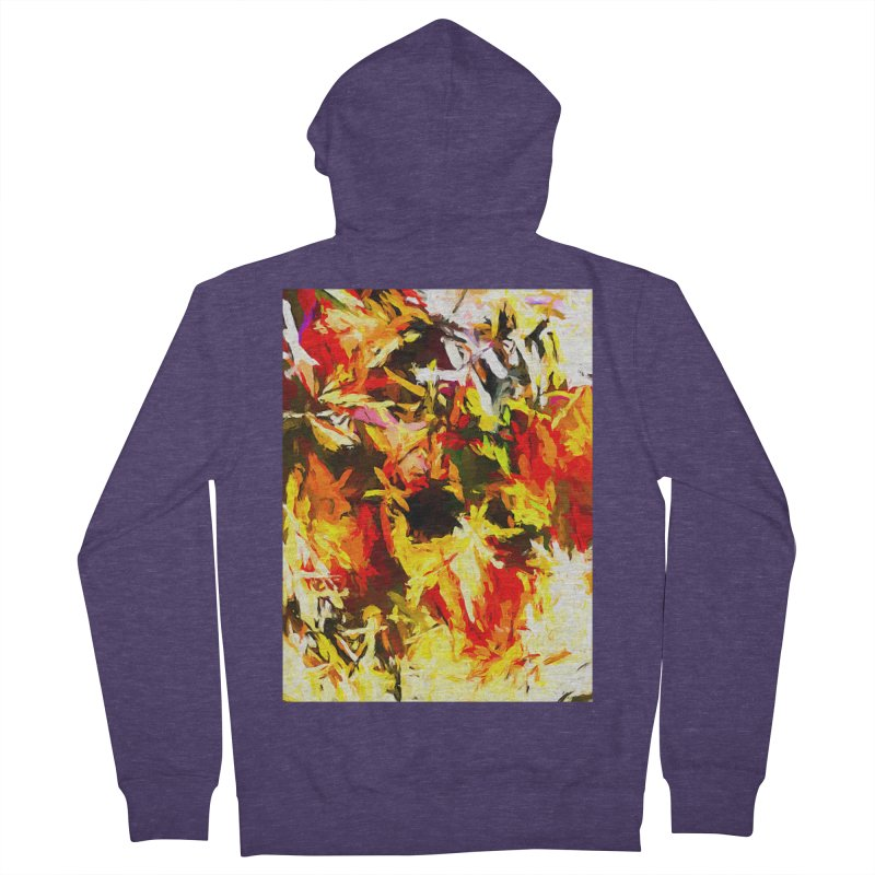 Scarecrow Boogie Men's French Terry Zip-Up Hoody by jackievano's Artist Shop