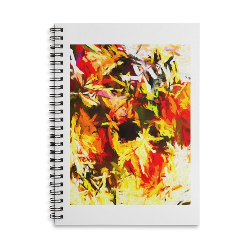 Scarecrow Boogie Accessories Lined Spiral Notebook by jackievano's Artist Shop