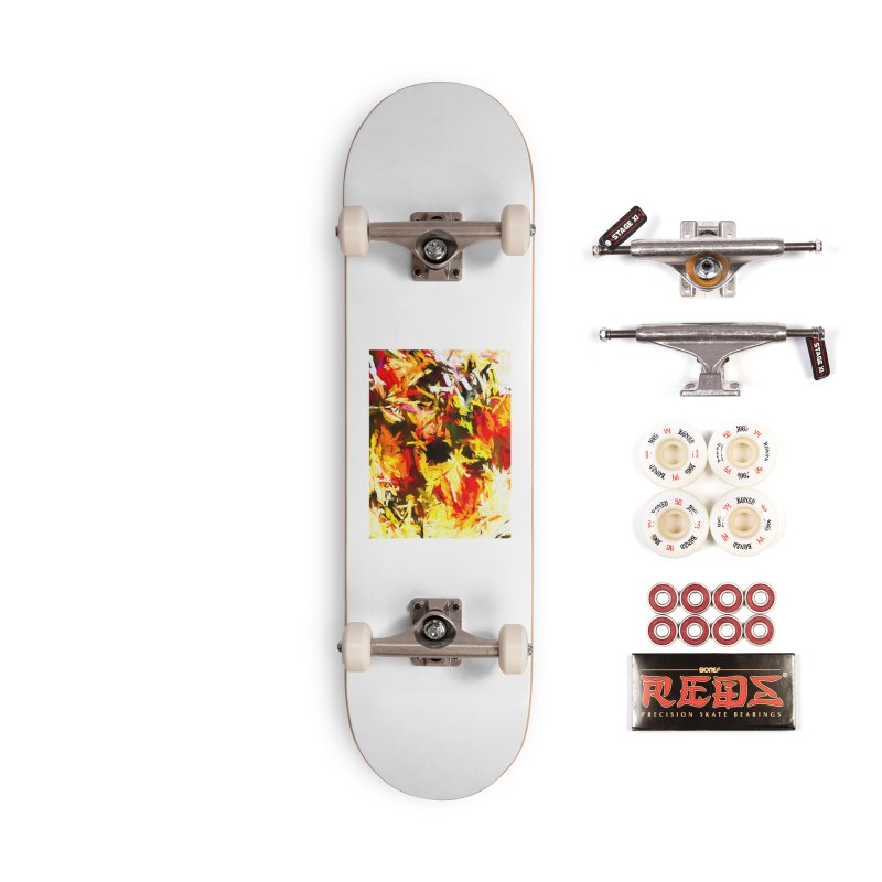 Scarecrow Boogie Accessories Complete - Pro Skateboard by jackievano's Artist Shop