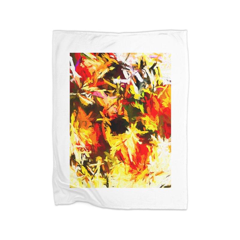 Scarecrow Boogie Home Fleece Blanket Blanket by jackievano's Artist Shop
