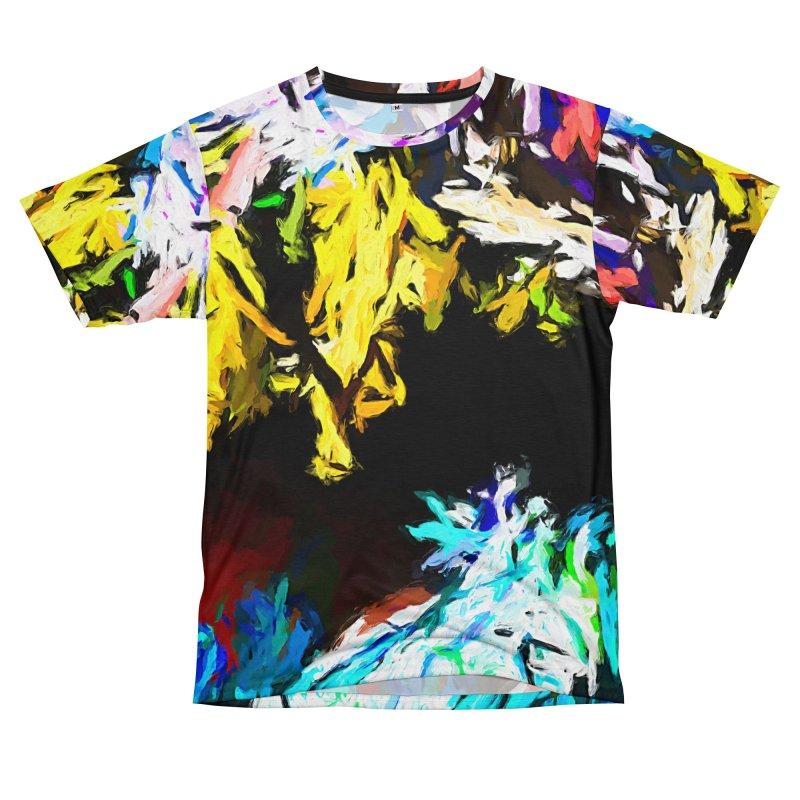 Yellow Cow Men's T-Shirt Cut & Sew by jackievano's Artist Shop