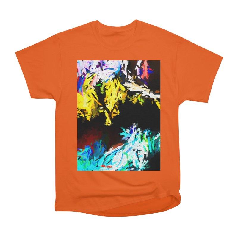 Yellow Cow Women's Heavyweight Unisex T-Shirt by jackievano's Artist Shop