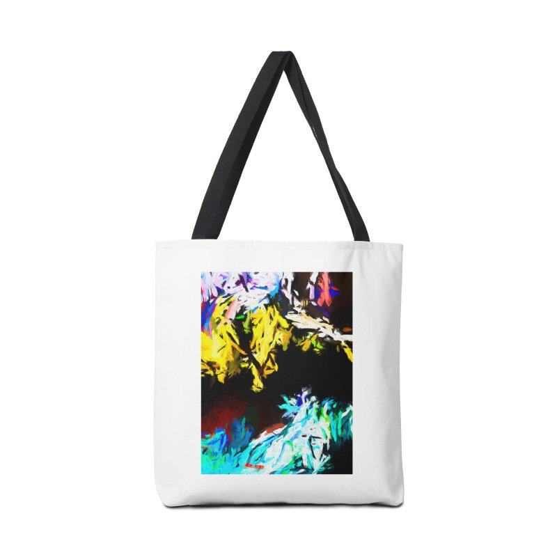 Yellow Cow Accessories Tote Bag Bag by jackievano's Artist Shop