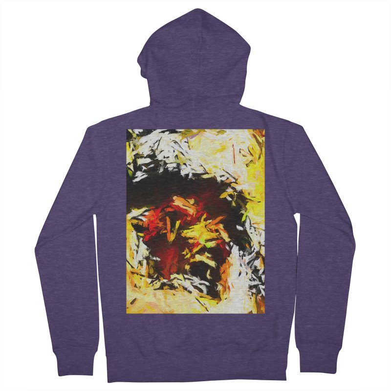 Ant Platypus Men's French Terry Zip-Up Hoody by jackievano's Artist Shop