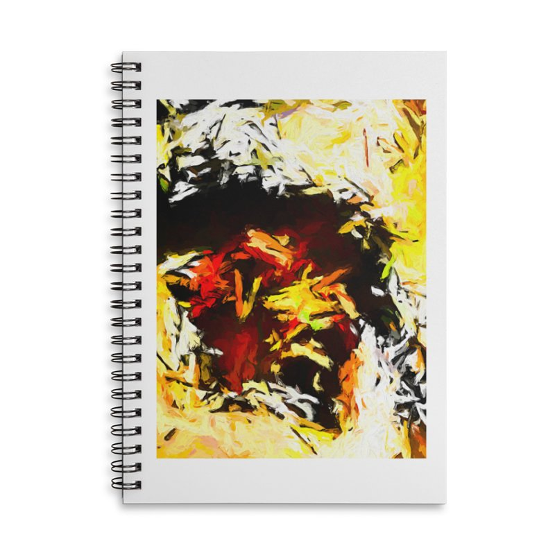 Ant Platypus Accessories Lined Spiral Notebook by jackievano's Artist Shop