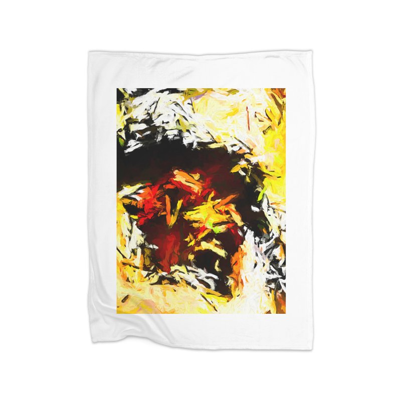 Ant Platypus Home Fleece Blanket Blanket by jackievano's Artist Shop