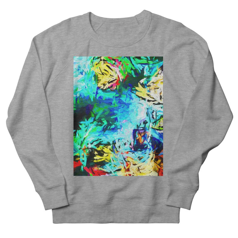 MiMo Men's French Terry Sweatshirt by jackievano's Artist Shop