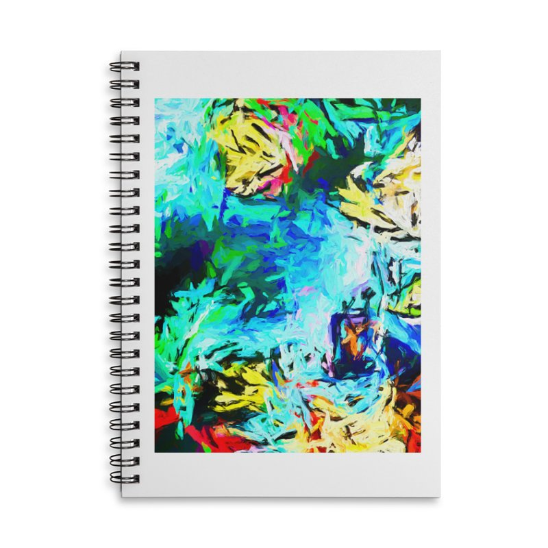 MiMo Accessories Lined Spiral Notebook by jackievano's Artist Shop