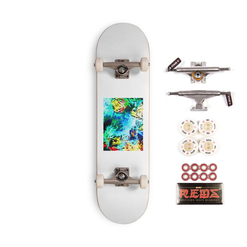 MiMo Accessories Complete - Pro Skateboard by jackievano's Artist Shop
