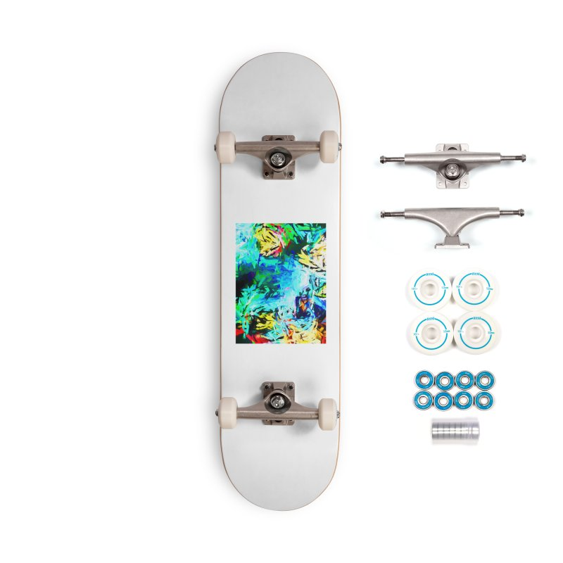 MiMo Accessories Complete - Basic Skateboard by jackievano's Artist Shop