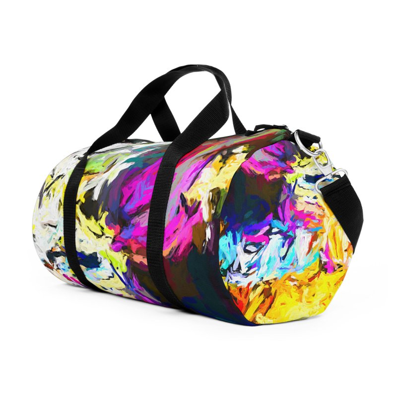 Salamander Smile Accessories Duffel Bag Bag by jackievano's Artist Shop