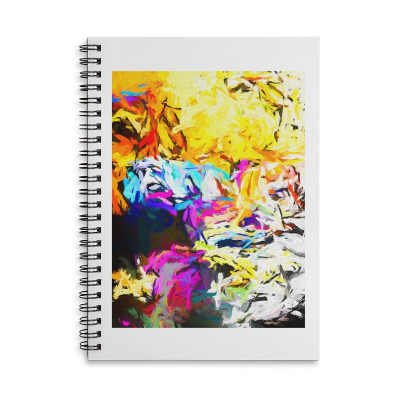 Salamander Smile Accessories Lined Spiral Notebook by jackievano's Artist Shop