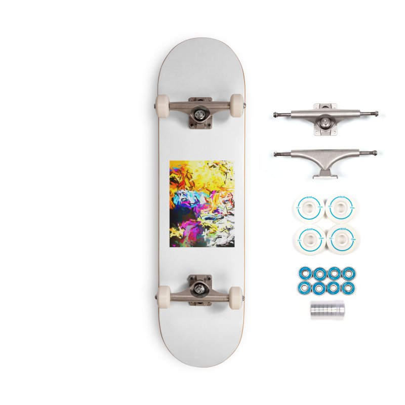 Salamander Smile Accessories Complete - Basic Skateboard by jackievano's Artist Shop