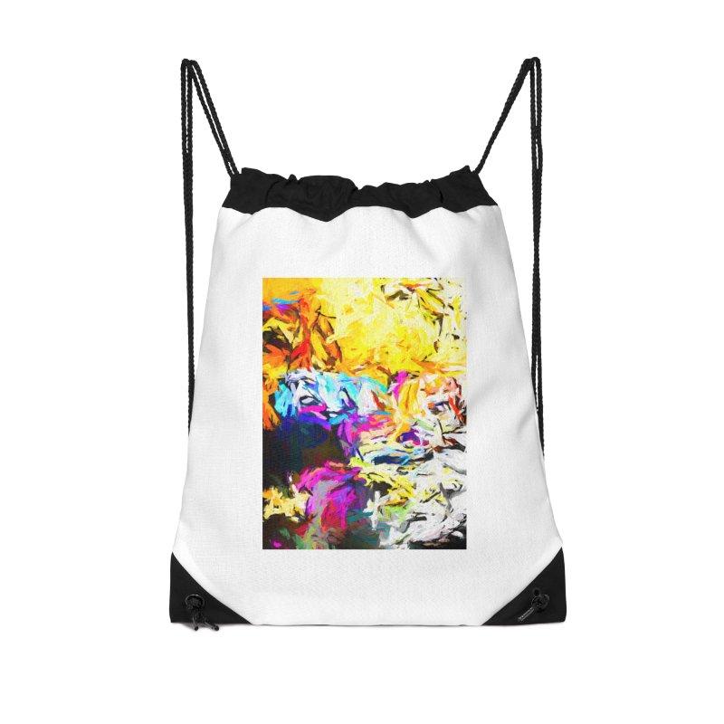 Salamander Smile Accessories Drawstring Bag Bag by jackievano's Artist Shop