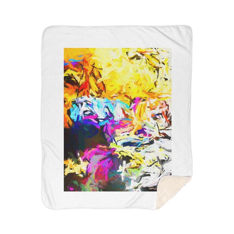 Salamander Smile Home Sherpa Blanket Blanket by jackievano's Artist Shop