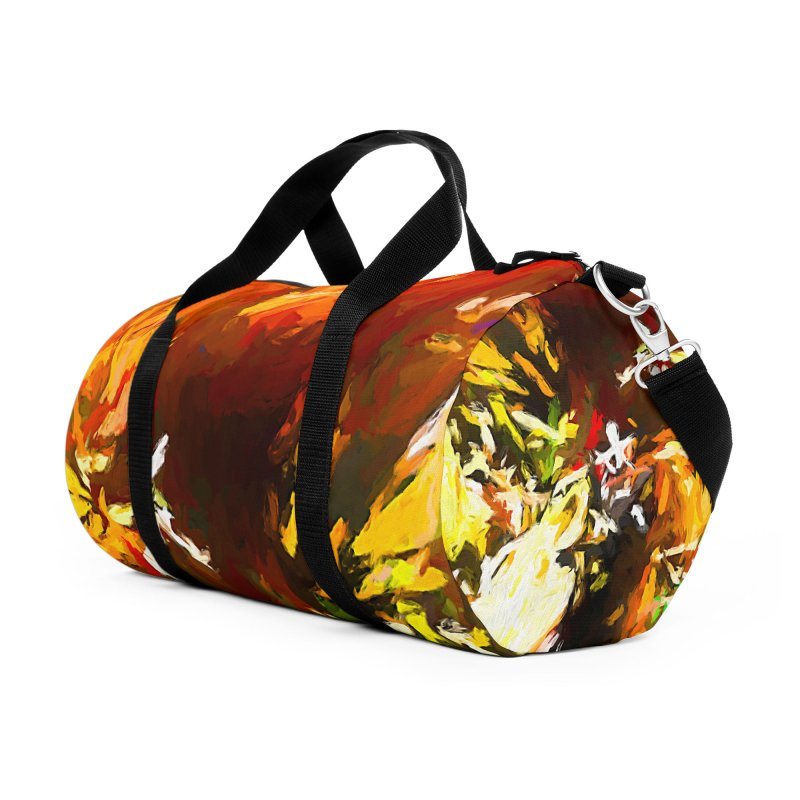 Sad Avalanche Accessories Duffel Bag Bag by jackievano's Artist Shop