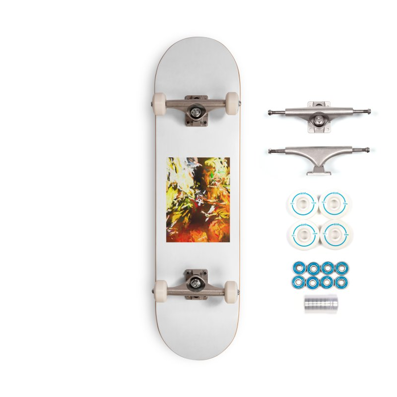 Sad Avalanche Accessories Complete - Basic Skateboard by jackievano's Artist Shop
