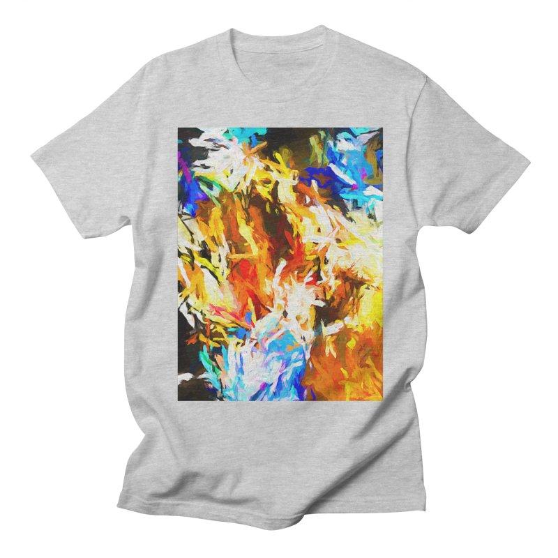 Tsunami Lion Men's Regular T-Shirt by jackievano's Artist Shop