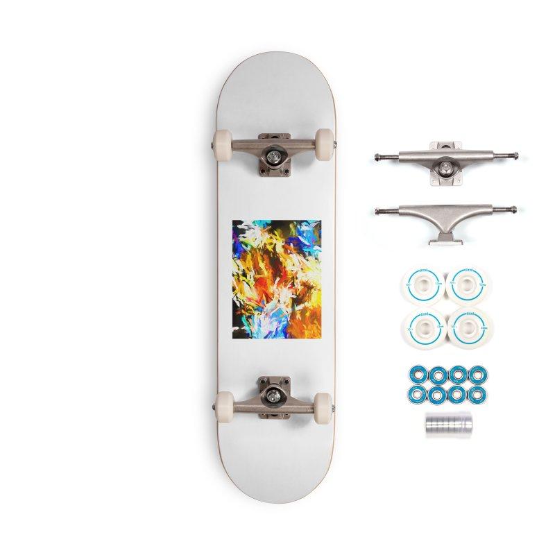 Tsunami Lion Accessories Complete - Basic Skateboard by jackievano's Artist Shop