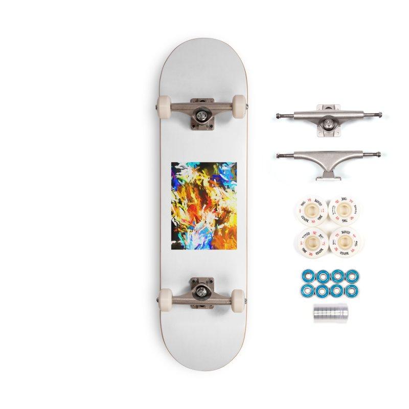 Tsunami Lion Accessories Complete - Premium Skateboard by jackievano's Artist Shop