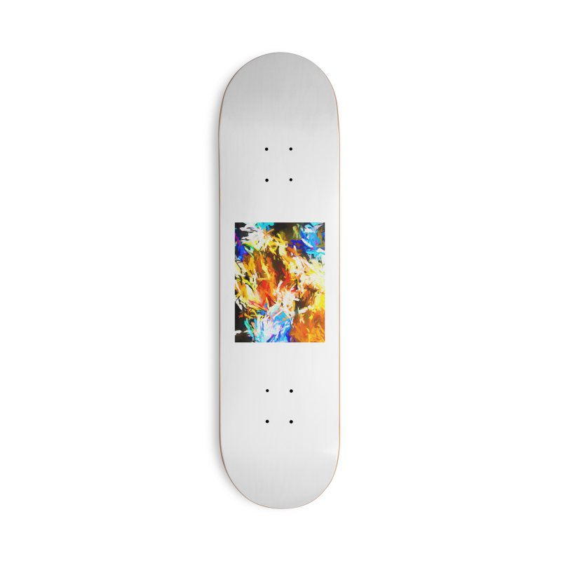 Tsunami Lion Accessories Deck Only Skateboard by jackievano's Artist Shop